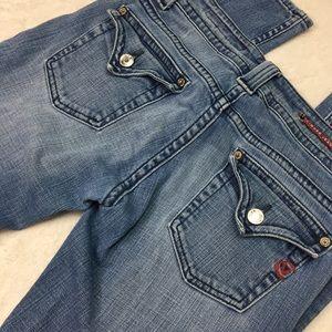 Vigoss Distressed Medium Wash Classic Fit Jeans